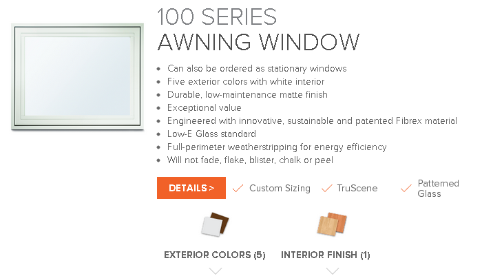Andersen 100 series composite windows from the window for 10 40 window definition