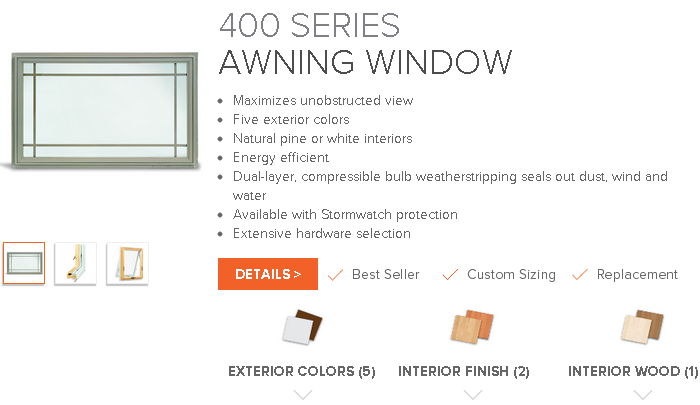 400 series andersen windows provided by the window door for Andersen window 400 series