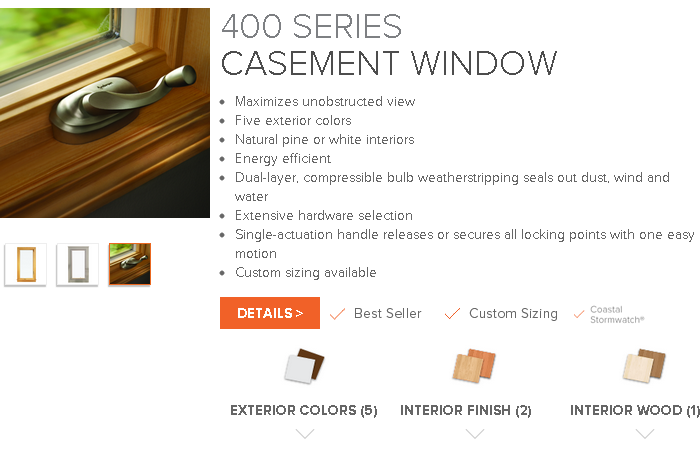 400 series andersen windows provided by the window door for Andersen 400 series casement