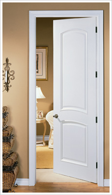 Int doors wickes kent internal moulded door white primed for Solid core flush panel interior doors