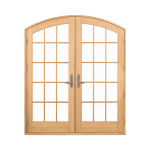 Ultimate Swinging Arch Top French Door